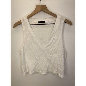 Brandy Melville 100% Cotton Sleeveless Crop Tops